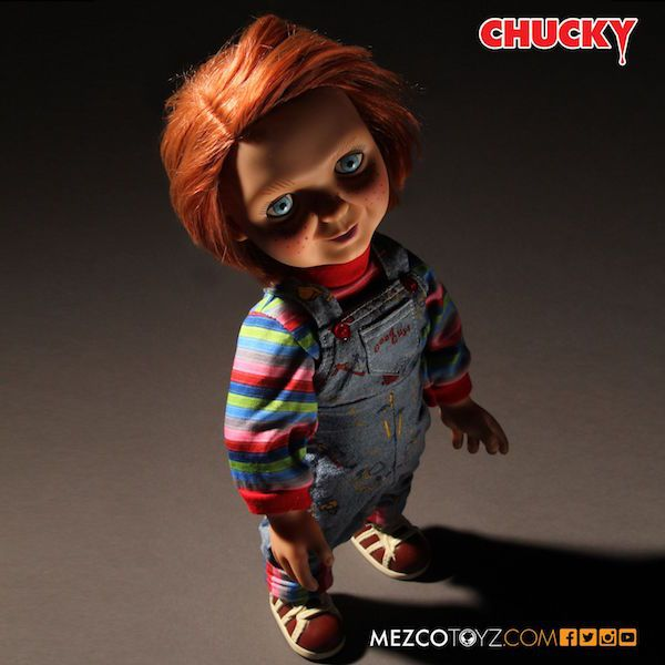 Mezco Is Releasing A Talking Chucky Doll That's Creepy As Hell
