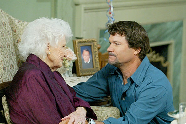Frances Reid and Peter Reckell