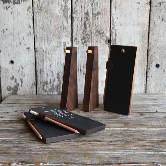 Fresh Kreide Tablet Trio rustikale K che Tafel Zeichen Altholz