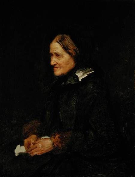 Leibl, Wilhelm Maria Hubertus : Helene Leibl, the Aunt of ...