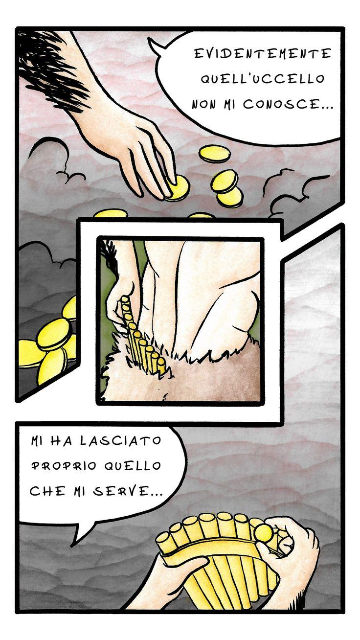 Giulio bottega, fumetto Il Satiro pagina 5
