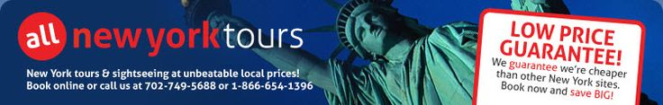 Hop-On Hop-Off Double Decker New York Bus Tour (Bus) from All New York Tours