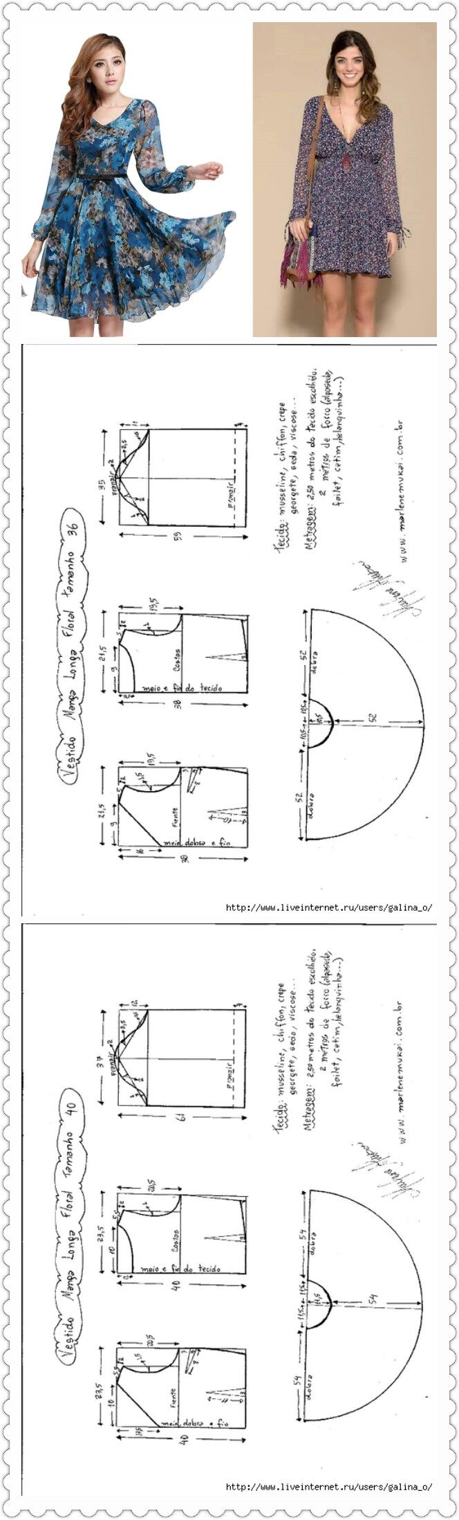 Sewing Pattern/ Dress