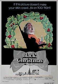 Black Christmas (the original) - one of the creepiest movies.  It started the trend of we traced the call and it's  inside your house.  The caller's voice is so creepy it gives you the chills.  Cool bit of trivia - the director also made A Christmas Story which was just a wee different Christmas tale.
