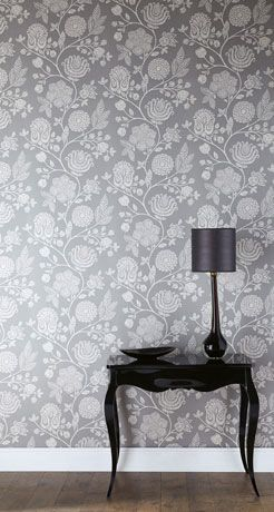 Cool wallpaper. I could probably only handle it on an accent wall, though.