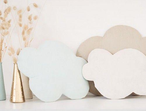 DIY-deco nuage-molletonné-en-tissus