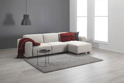 Ihanan pehmeä Monaco kulmasohva / Luxuriously soft Monaco corner sofa www.finsoffat.fi
