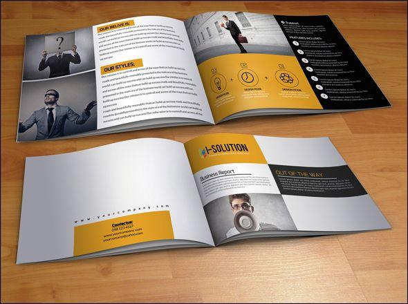 Best Corporate Brochures Images On Pinterest Brochure - Custom brochure templates