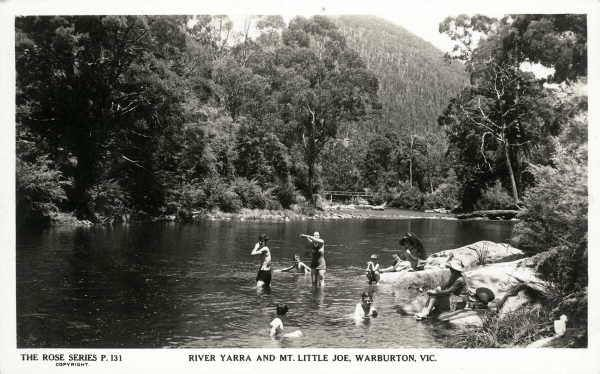 Some things never change. Yarra river Warburton.