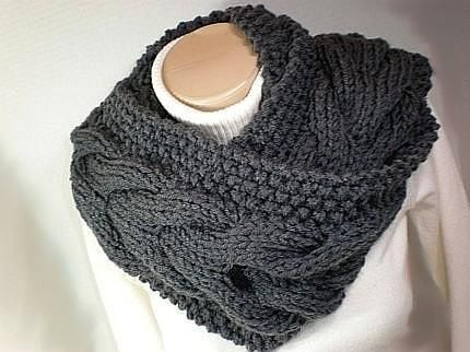 61 Best Knitting Patterns For Scarves And Cowls Images On Pinterest