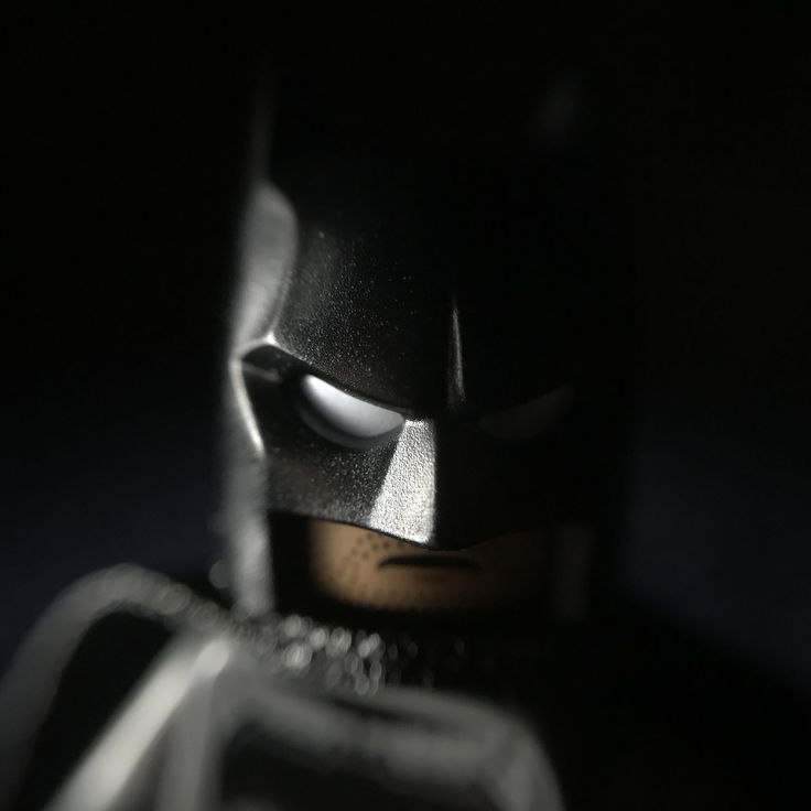 My moody portrait of batman #minifiguremacros #batman #lego #minifigures