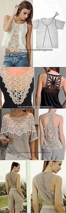 Idées modifications de vêtements |  Varvarushka-Couturière