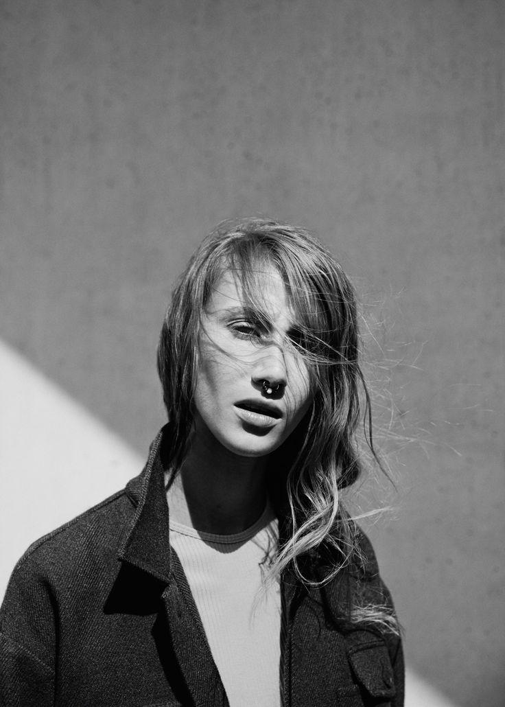 Lea Petrine / SVA MagazinePhotographer Sara Angelica Spilling Stylist Anneline Berg  Make-up & hair Inger Lise Moa