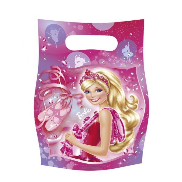 6 Sacchetti per caramelle soggetto Barbie Ballerina™ su VegaooParty, negozio di articoli per feste. Scopri il maggior catalogo di addobbi e decorazioni per feste del web, sempre al miglior prezzo!