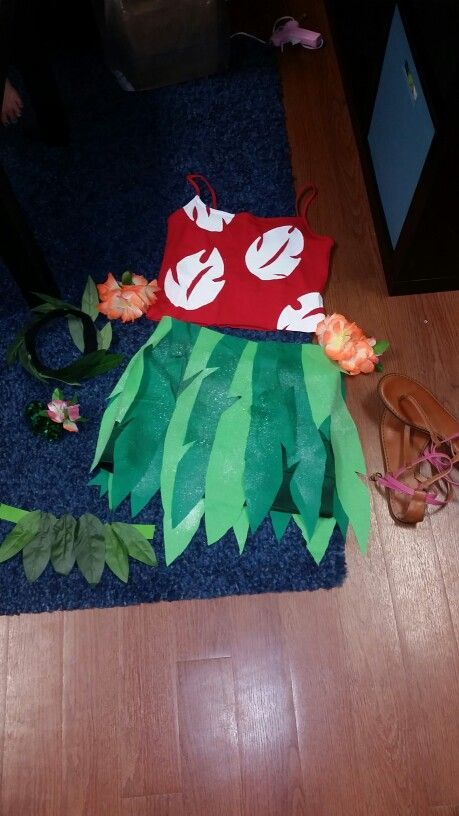 halloween costumes ideas Lana's costume Lilo and stitch diy halloween costume Check more at http://blog.blackboxs.ru/category/halloween/