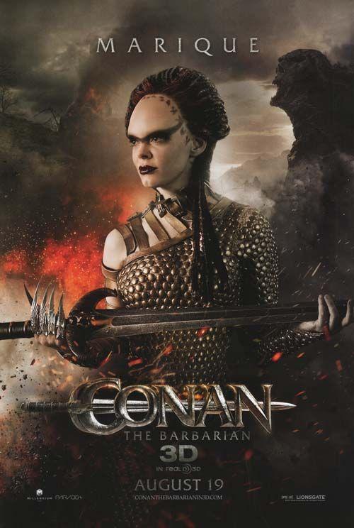 """Marique"" Character Poster - Conan The Barbarian (2011)"