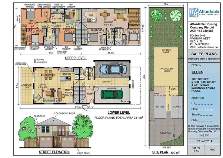 181 best floor plans duplex images on pinterest floor for Extended family house plans
