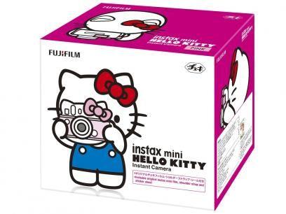 Câmera Instantânea Fujifilm Instax Mini Hello Kitt - Revelação Instantânea com 1 Caixa com 10 Filmes com as melhores condições você encontra no Magazine Siarra. Confira!