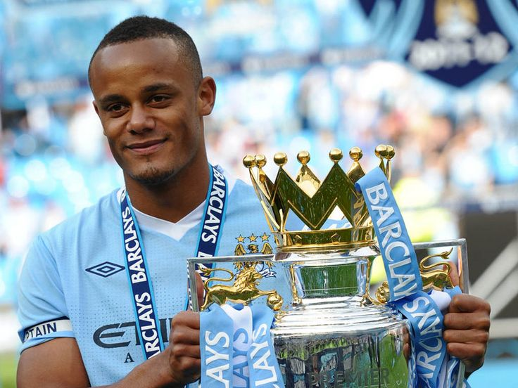 Vincent Kompany Manchester City Legend Hungry for a repeat performance to clinch the championship!!!