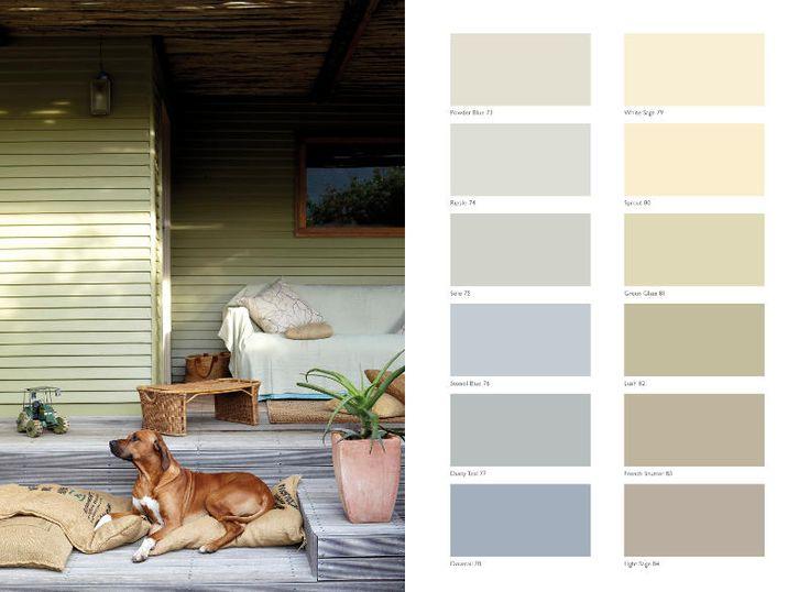 Plascon Paint Essential Collection: 108 Essential Colours -Calm Palette