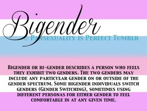 feeling like this may apply to me, I feel like a girl and agender all at once.