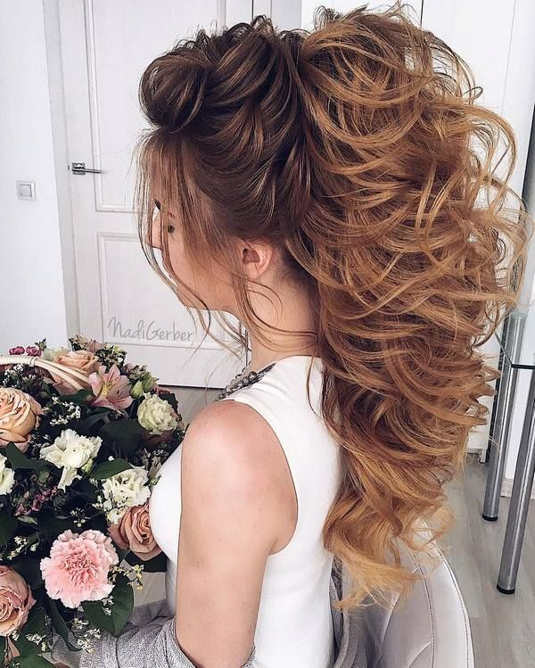 Curly Wedding Hairstyles: 25+ Best Ideas About Long Curly Hairstyles On Pinterest