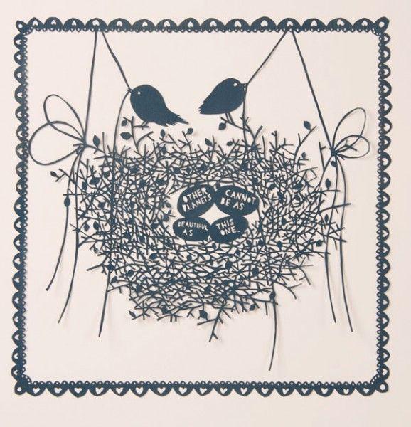 love this paper artist Robert Ryan