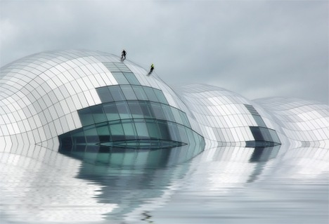 the Sage in Gateshead, by Sir Norman Foster