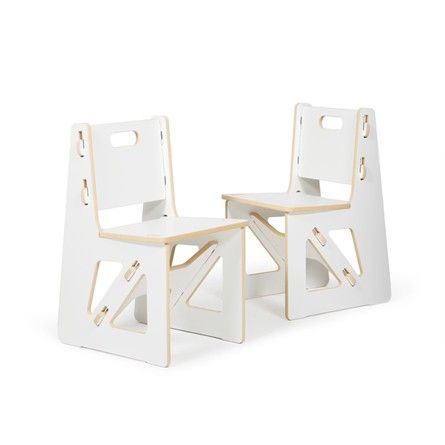 These modern kids' chairs are not your traditional chairs!