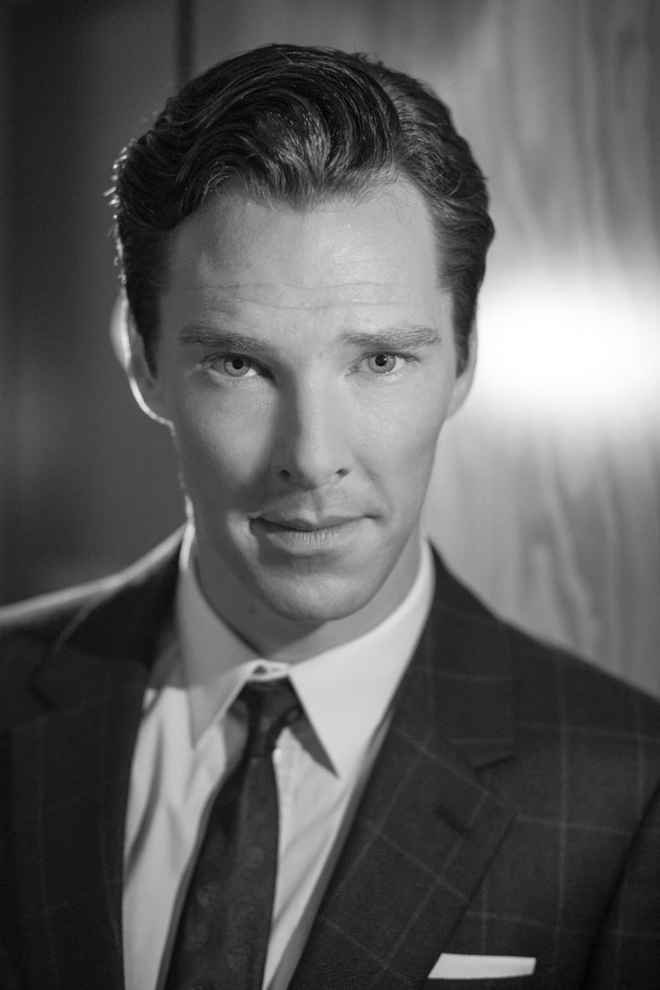 B & W {Actor Benedict Cumberbatch is photographed for The Hollywood Reporter during the 38th Toronto International Film Festival on September 7, 2013 in Toronto, Ontario. (Photo by Fabrizio Maltese)}