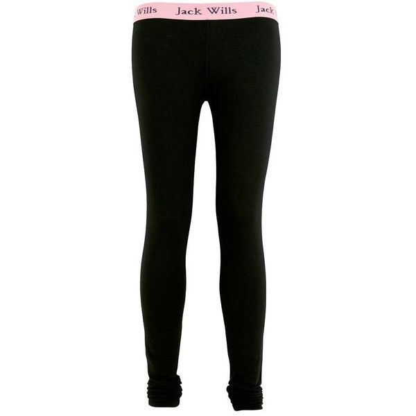 Jack Wills Amberstone Legging (12.935 CLP) ❤ liked on Polyvore featuring pants, leggings, tajice, bottoms, pajamas, pink leggings, elastic waist pants, elastic waistband pants, stretch waist pants and pink pants