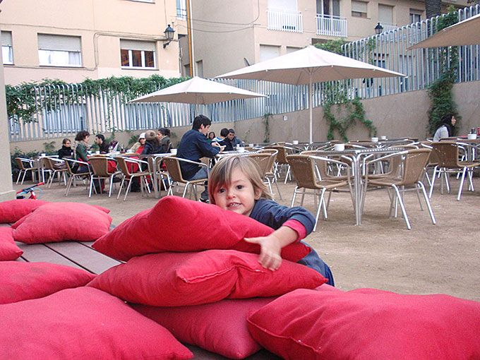 Las mejores terrazas para ir con ni os barcelona for for Gimnasio 9 y 57