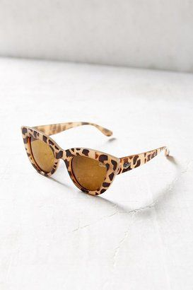 leopard cat-eye shades? yes please!
