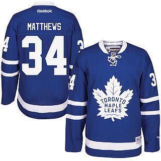 Men's Toronto Maple Leafs Auston Matthews Reebok Royal Home Premier Jersey–59.99$
