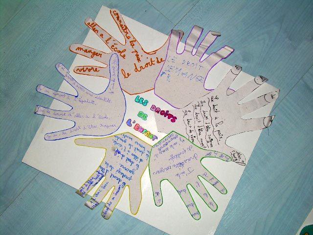 les droits de l'enfant, nos travaux 2 ...