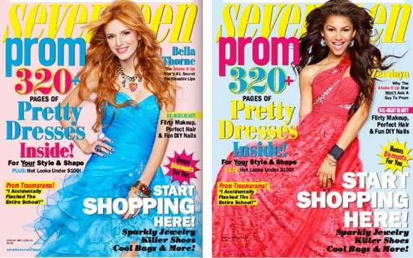 "Bella Thorne e Zendaya falam de formatura à revista ""Seventeen""!"