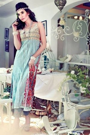 Tena Durrani Eid Clothes Formal Wear Collection 2014-2015