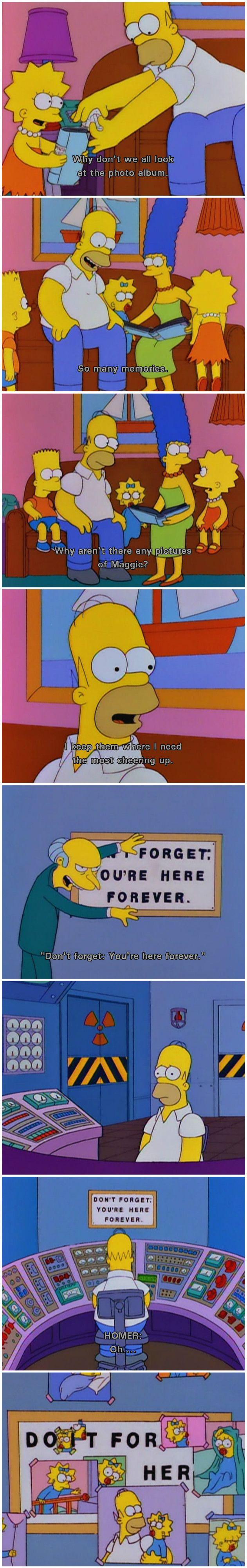 The Simpsons #scene