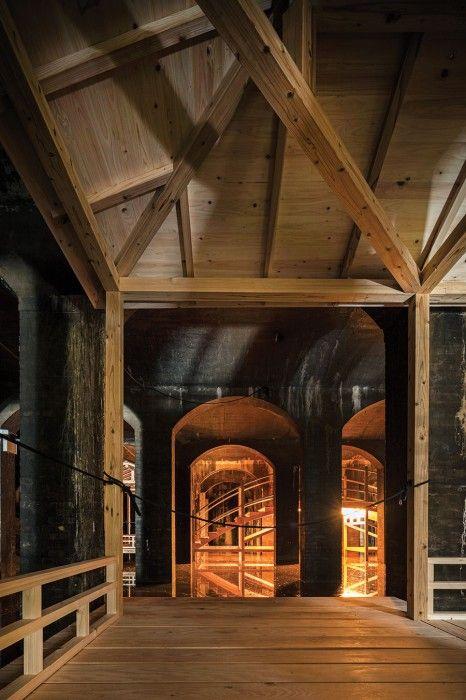 Wooden cladding in Dinesen Douglas at The Cisterns x Sambuichi