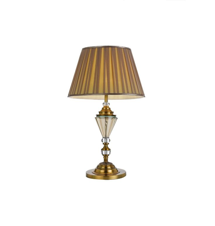 Table lamps floor lamps desk lamps 103 oxford table lamp antique gold with glass telbix 15800 mozeypictures Images