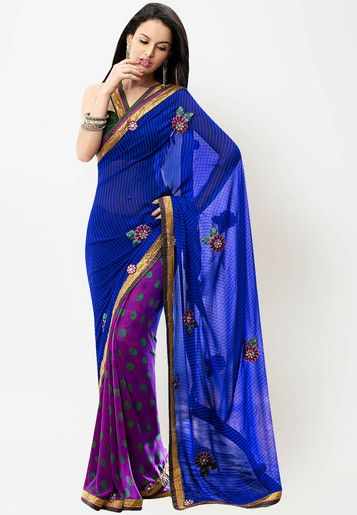 #Saree - #SAREES - #jabongworld #indianethnic #ethnic #indiansaree #fabdeal