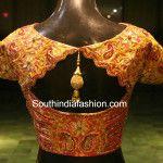 Beautiful Blouse for Kanjeevaram Sarees
