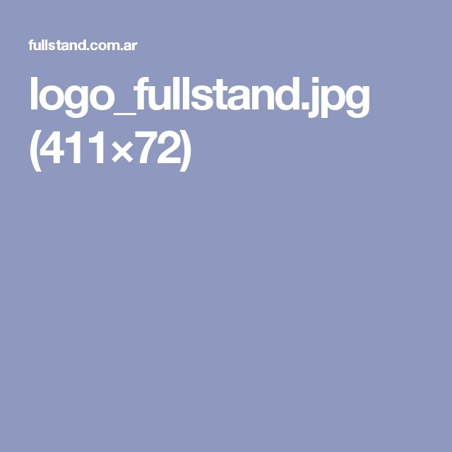 logo of Fullstand company, See page http://fullstand.com.ar/wp/en/empresa/