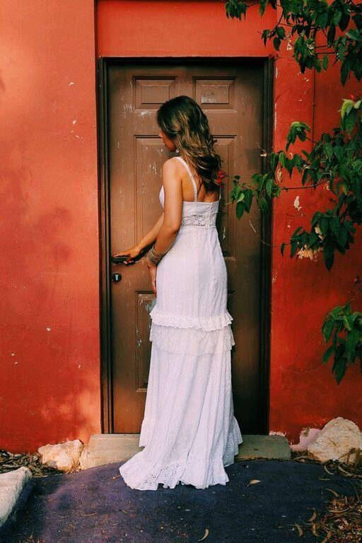 Excited to share the latest addition to my #etsy shop: Boho Wedding Dress Eyelet Cotton Wedding Dress Unique Wedding Dress Flamenco Wedding Dress Paulastudio Wedding Dress Hippie Wedding Dress http://etsy.me/2i4smw7 #weddings #clothing #weddinggown #white #paulastudio #handmade #