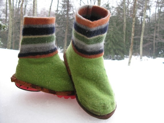 ShoeSweaters Keep Running Feet Warm and Dry in Winter by EweRun, $45.00