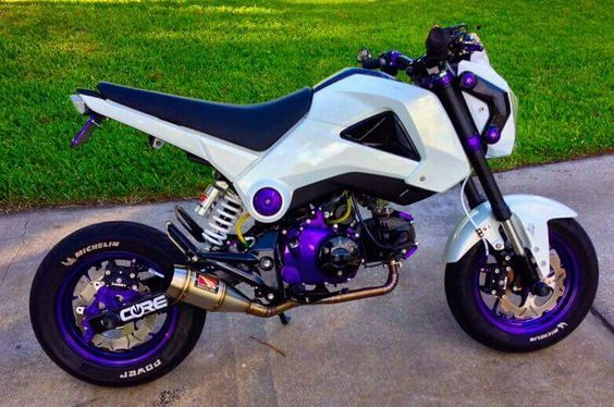 200+ Custom Honda Grom   MSX125 Pictures / Photo Gallery. Stretched & Lowered + Turbo Kits + Exhausts + Custom Wheels & Paint + Sport Bike Fairings / Plastics and More on Honda's hottest selling motorcycle in many years! www.HondaProKevin...