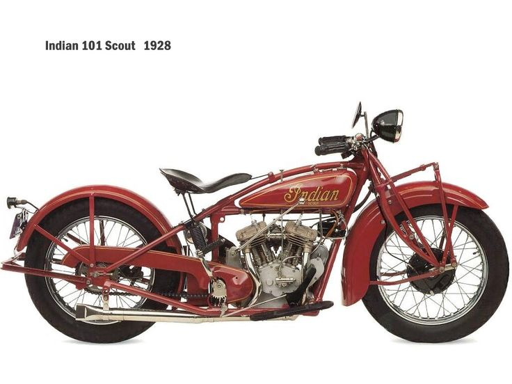 101 scout 1928 by indian motorcycle twowheels
