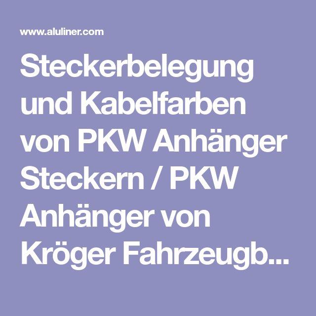 Schön Elektrischer Stecker Schaltplan Des Anhängers Zeitgenössisch ...