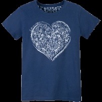 Big hearted.: Big Hearted, Creamy Tee, Paisley Heart, Lifeisgood Dowhatyoulike, Lifeisgood Thinkspring
