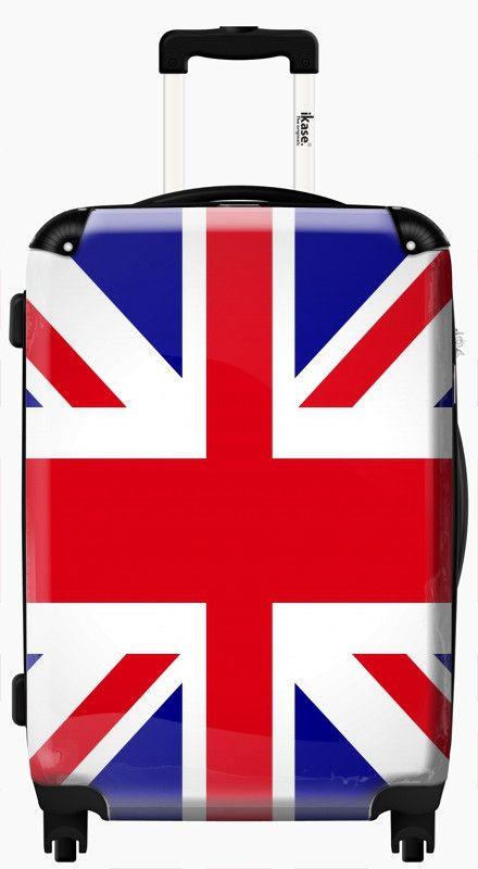 Suitcase UK flag